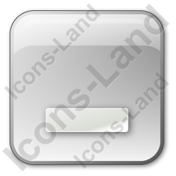 Minimize Box Grey Icon