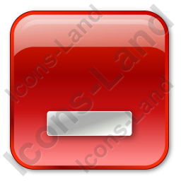 Minimize Box Red Icon