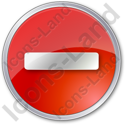 Minus Circle Red Icon