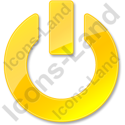 Power Yellow Icon