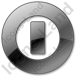 Shutdown Black Icon, PNG/ICO, 256x256