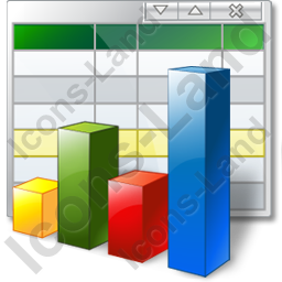 Table Graph Icon