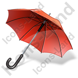 Umbrella Icon, PNG/ICO, 256x256
