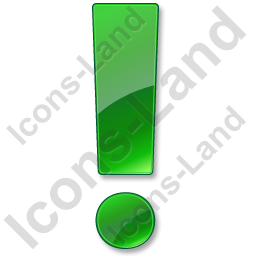 Warning Green Icon