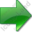 Arrow Right Green Icon