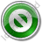 Cancel Circle Green Icon, PNG/ICO, 48x48