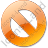 Cancel Orange Icon, PNG/ICO, 48x48