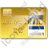 Credit Card Visa 2 Icon, PNG/ICO, 48x48