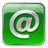 EMail Box Green Icon