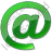 EMail Green Icon, PNG/ICO, 48x48