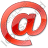 EMail Red Icon, PNG/ICO, 48x48