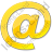 EMail Yellow Icon, PNG/ICO, 48x48