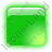 Indicator Box Green On Icon, PNG/ICO, 48x48