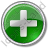 Plus Circle Green Icon