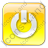 Power Box Yellow Icon, PNG/ICO, 48x48