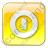 Shutdown Box Yellow Icon, PNG/ICO, 48x48