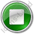 Stop Green Icon, PNG/ICO, 48x48