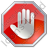 Stop Hand Octagon Icon