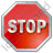 Stop Octagon Icon