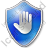 Stop Shield Blue Icon, PNG/ICO, 48x48