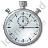 Stopwatch 1 Icon, PNG/ICO, 48x48