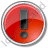 Warning Circle Red Icon