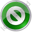 Cancel Circle Green Icon, PNG/ICO, 64x64