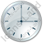 Clock Grey Icon