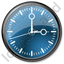 Clock Blue Icon