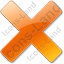 Close Orange Icon, PNG/ICO, 64x64