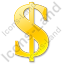 Dollar Yellow Icon