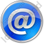 EMail Circle Blue Icon