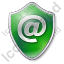 EMail Shield Green Icon