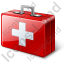 First Aid Kit Icon, PNG/ICO, 64x64