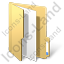 Folder File Yellow Icon, PNG/ICO, 64x64
