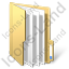 Folder Files Yellow Icon, PNG/ICO, 64x64