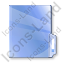 Folder Blue Icon, PNG/ICO, 64x64