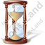Hourglass Icon, PNG/ICO, 64x64