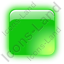 Indicator Box Green On Icon, PNG/ICO, 64x64