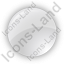 Indicator Round Grey On Icon, PNG/ICO, 64x64
