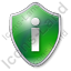 Info Shield Green Icon