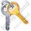 Keys Icon, PNG/ICO, 64x64