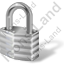 Lock Closed Grey Icon