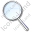 Magnifier Left Icon