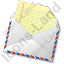 Mail 1 Opened Icon, PNG/ICO, 64x64