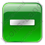Minus Box Green Icon