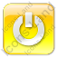 Power Box Yellow Icon, PNG/ICO, 64x64
