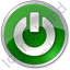 Power Circle Green Icon