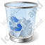 Recycle Bin 2 Full Icon, PNG/ICO, 64x64