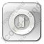 Shutdown Box Grey Icon